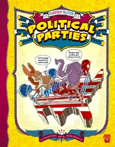 9781429617826: Political Parties (Graphic Library: Cartoon Nation)