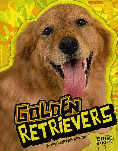 Golden Retrievers (Edge Books): Brekka Hervey Larrew
