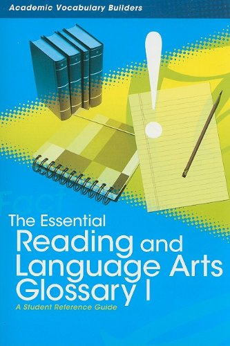 The Essential Reading and Language Arts Glossary: Red Brick Learning