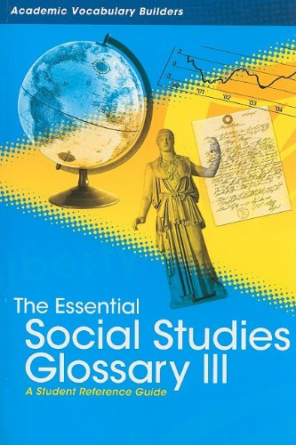 The Essential Social Studies Glossary 3: Academic: Red Brick Learning