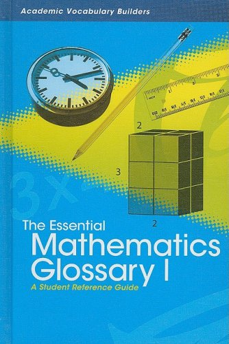 The Essential Mathematics Glossary I: A Student: Red Brick Learning