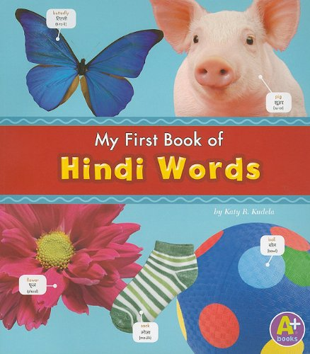 9781429661737: My First Book of Hindi Words (Bilingual Picture Dictionaries) (Multilingual Edition)
