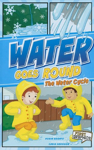 Water Goes Round: The Water Cycle (First Graphics: Nature Cycles): Koontz, Robin