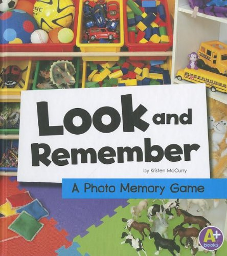 9781429675482: Look and Remember: A Photo Memory Game (Eye-Look Picture Games)