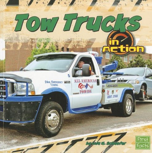 9781429676915: Tow Trucks in Action (Transportation Zone)