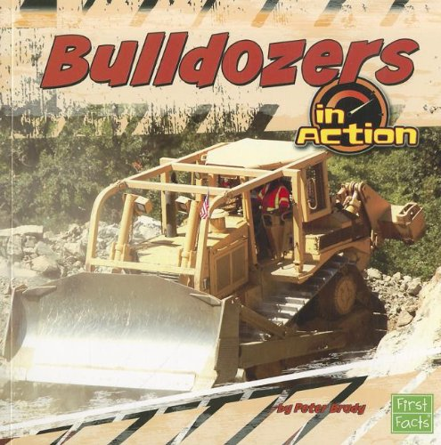9781429676922: Bulldozers in Action (Transportation Zone)