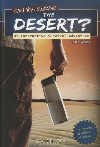 9781429679954: Can You Survive the Desert? (You Choose Books (Paperback))