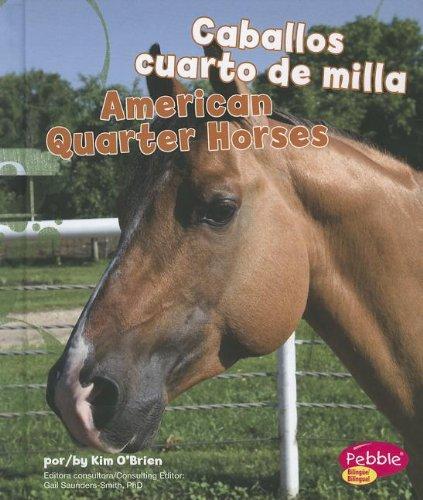 9781429692243: Caballos Cuarto De Milla/ American Quarter Horses (Pebble Bilingue/Bilingual: Cabollos/Horses)