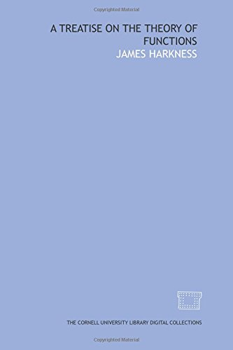 9781429700290: A treatise on the theory of functions