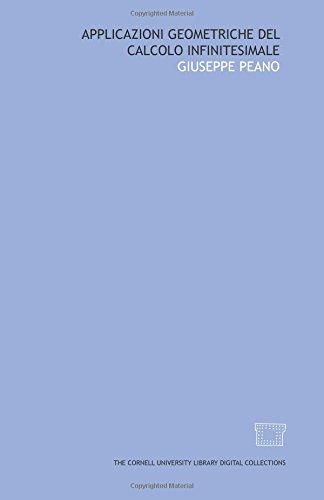 9781429700771: Applicazioni geometriche del calcolo infinitesimale (Italian Edition)