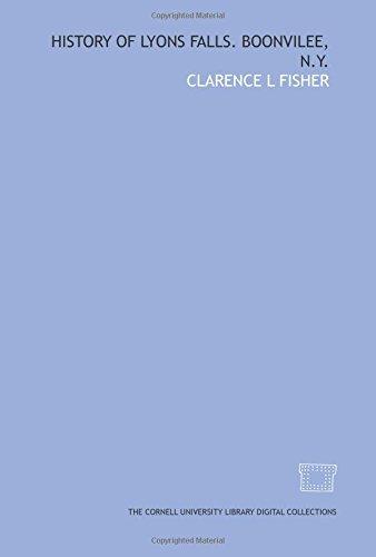 9781429736398: History of Lyons Falls. Boonvilee, N.Y.