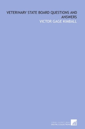 9781429767866: Veterinary state board questions and answers