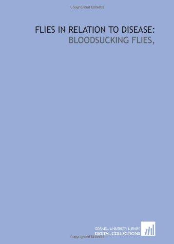 9781429769273: Flies in relation to disease:: bloodsucking flies,