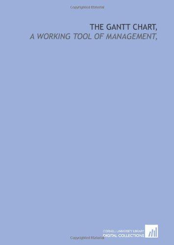 9781429777933: The Gantt chart,: a working tool of management,