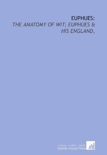 Euphues England Anatomy by John Lyly - AbeBooks