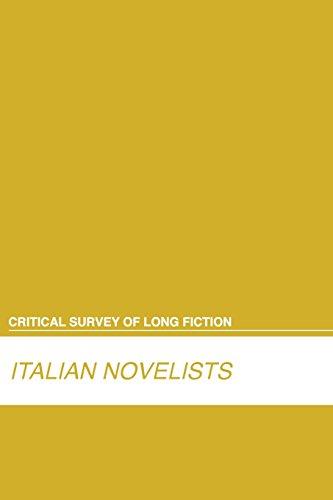 Italian Novelists (Critical Survey (Salem Press)) (Critical: Salem Press