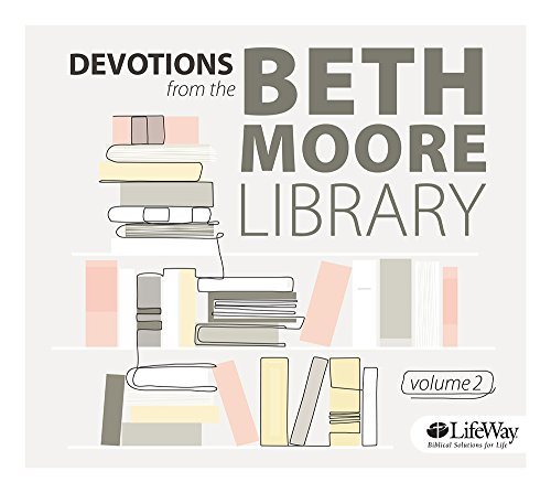 9781430029878: Devotions from the Beth Moore Library Audio CD, Volume 2