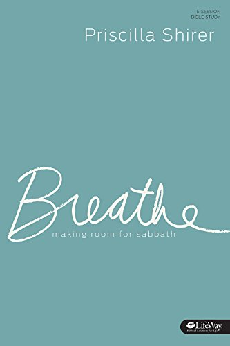 9781430032342: Breathe - Study Journal: Making Room for Sabbath
