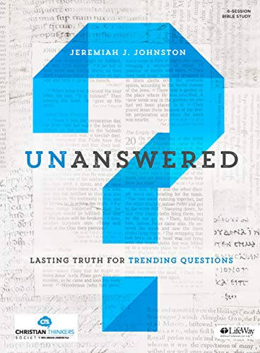 9781430039594: Unanswered: Lasting Answers to Trending Questions (Bible Study Book)