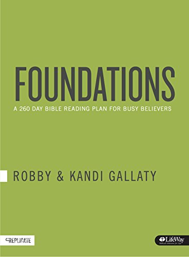 9781430045557: Foundations: A 260-Day Bible Reading Plan for Busy Believers (Journal)