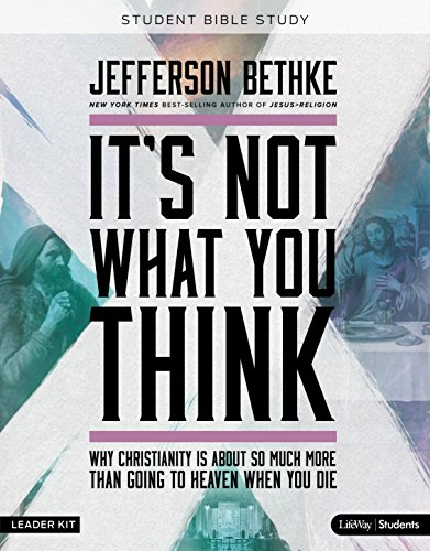 9781430052579: It's Not What You Think: Student Edition (DVD Leader Kit)