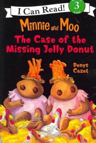 9781430100881: Minnie and Moo: The Case of the Missing Jelly Donut (I Can Read, Reading Alone 3) (With Cassette)