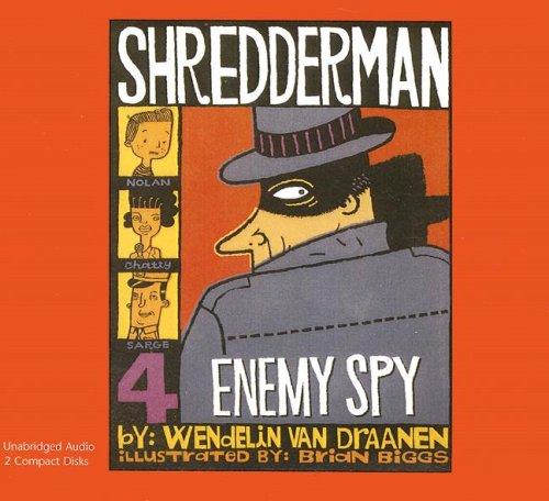 9781430101147: Enemy Spy (Shredderman Series)