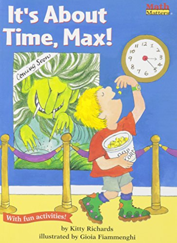 9781430106319: It's about Time, Max with CD (Math Matters (Live Oaks Media))
