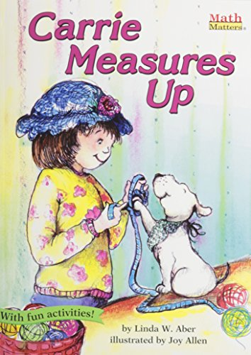 Carrie Measures Up [With Paperback Book] (Compact Disc): Linda Williams Aber