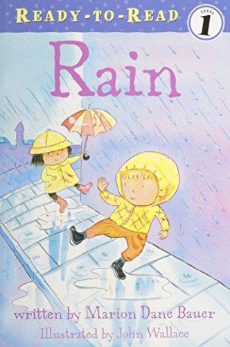 9781430108252: Rain (1 Paperback/1 CD) (Weather Series)