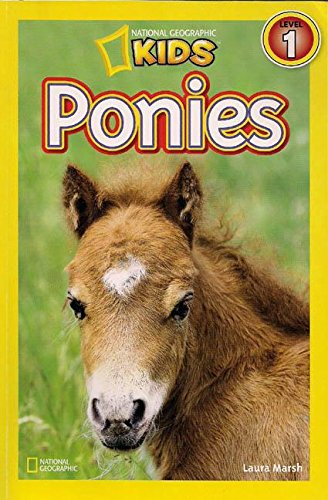 9781430121053: Ponies (1 Hardcover/1 CD) (National Geographic Readers: Pre-Reader)