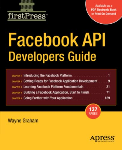 9781430209690: Facebook API Developers Guide (Firstpress)
