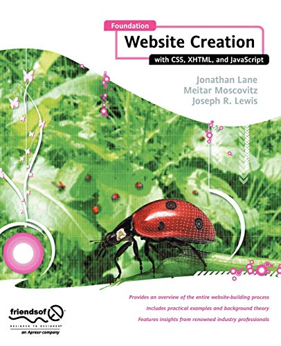9781430209911: Foundation Website Creation with CSS, XHTML, and JavaScript