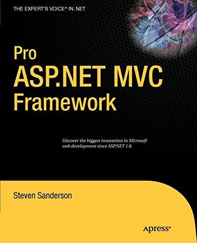 9781430210078: Pro ASP.NET MVC Framework