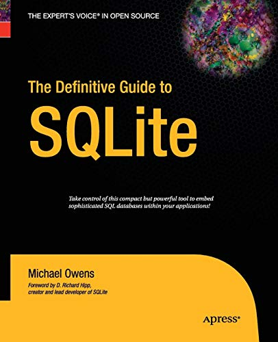 9781430211662: The Definitive Guide to SQLite