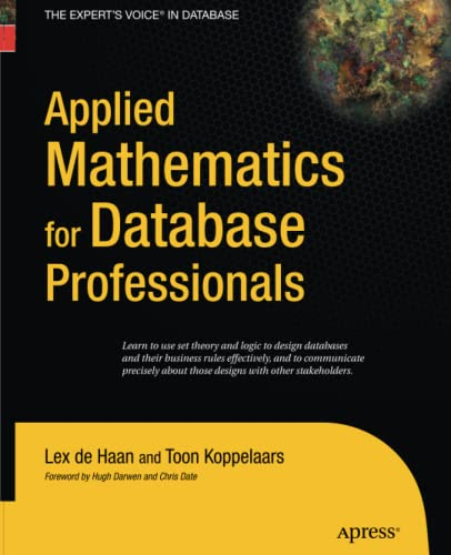 9781430211846: Applied Mathematics for Database Professionals