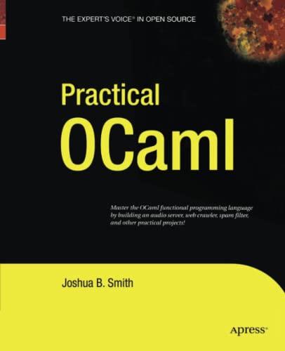 9781430211945: Practical OCaml