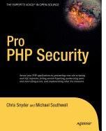 9781430212645: Pro PHP Security