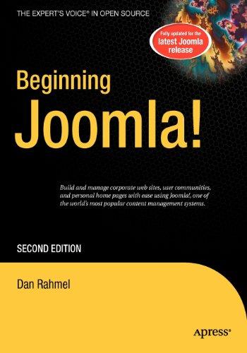 9781430216575: Beginning Joomla!
