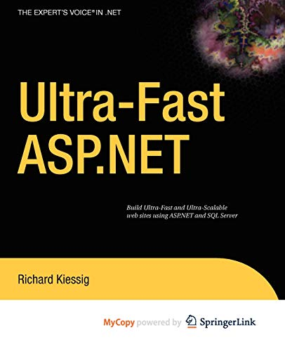 9781430222620: Ultra-fast ASP.NET: Building Ultra-Fast and Ultra-Scalable Websites Using ASP.NET and SQL Server