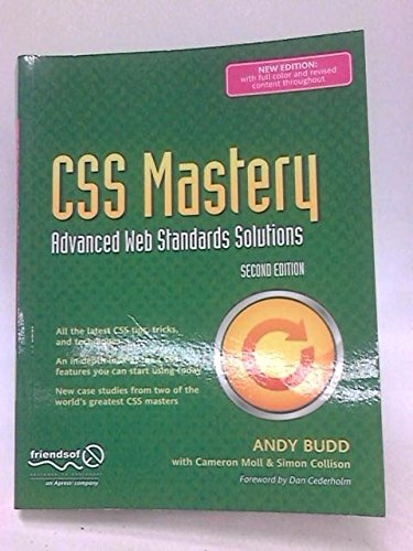 9781430222743: CSS Mastery: Advanced Web Standards Solutions