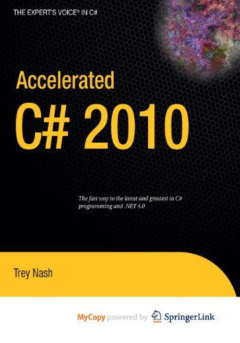 9781430223313: Accelerated C# 2010