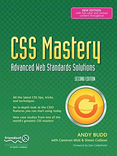 9781430223979: CSS Mastery: Advanced Web Standards Solutions (Black & White)