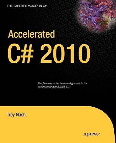 9781430225379: Accelerated C# 2010 (Expert's Voice in C#)