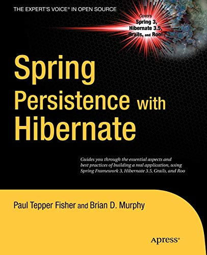 9781430226321: Spring Persistence with Hibernate (Expert's Voice in Open Source)