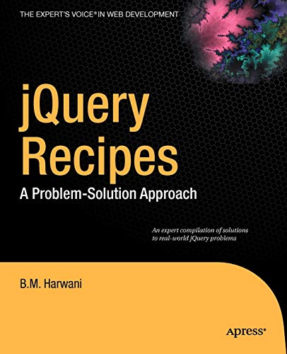9781430227090: jQuery Recipes: A Problem-Solution Approach (Expert's Voice in Web Development)
