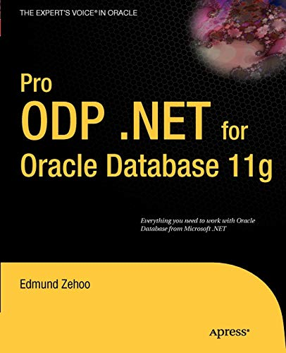 9781430228202: Pro ODP.NET for Oracle Database 11g (Expert's Voice in Oracle)