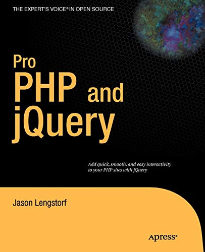 9781430228479: Pro PHP and jQuery