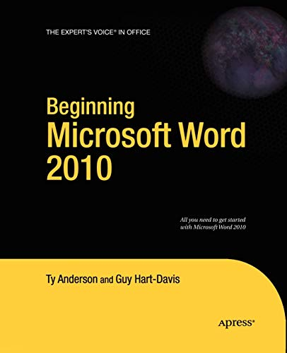 9781430229520: Beginning Microsoft Word 2010 (Expert's Voice in Office)