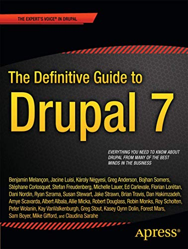 9781430231356: The Definitive Guide to Drupal 7